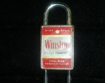 Winston locking keychain/lock