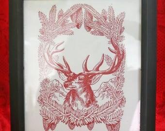 Framed Christmas Artwork
