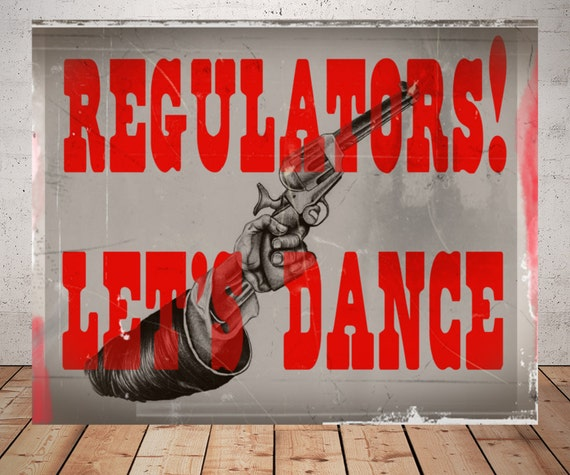 Regulators lets dance