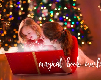 Magical book overlay