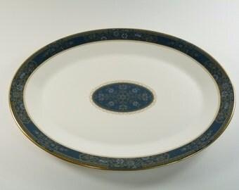 "Royal DOULTON Pottery - CARLYLE Pattern - Platter / Platters - 13 1/2"""