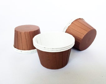 High Quality Pleated Brown Baking Cups Cupcake Cases Muffin Cups