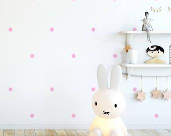Vinyl child - Little dots - Mini removable decorative vinyl dots