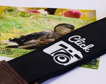 Handmade strap/ Click/ Camera strap/ Gift photographer/ Photography/ Unique/ Original/ Stylized/ Fashion/ Gift idea/ Etsy gift/ Gift friend