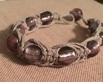 Woven Heronbone Bracelet