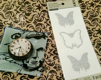 Recollection etsy recollections butterfly 3 pc crafting cut and emboss templates sizzix spellbinder pronofoot35fo Gallery