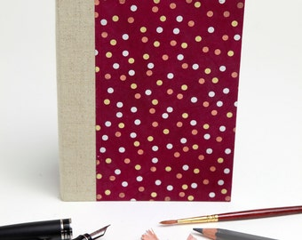 Handmade Blank Notebook, to draw, to write, to present!