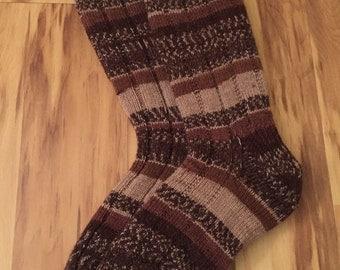 Cappuccino Boot Socks
