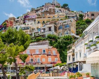 Positano, Italy Photography, Positano print, Colourful Italy, Italy Photo, Positano Wall Art, Positano Photo, Italy Wall Art, Southern Italy