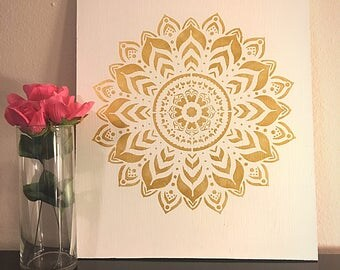 Mandala Wall Decor mandala wall decor | etsy
