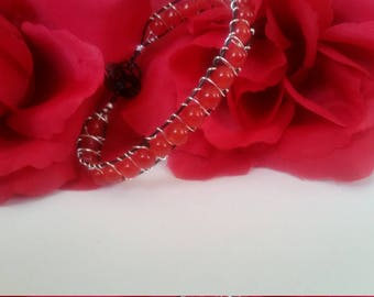 Genuine Ruby Woven Bracelet