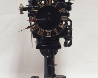 "Pneumatic Clock/Device. ""Fluid Power div. Wake Forest NC"" , ""SCOVILL""."