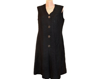 Vintage Diekmann Couture black dress