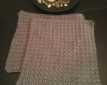 Crocheted Dishcloths (Set of 4)