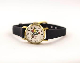Vintage watch, Luch watch, watch for her, soviet watch, ussr watch, mechanical watch, russian watch, wrist watch for women