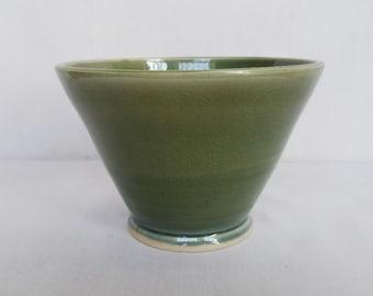 Green two tone bowl