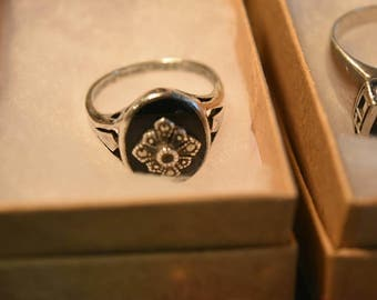 Sterling Silver Rings, Size 8, Your Choice!