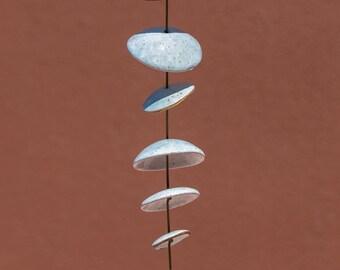 Ceramic Wind Chimes -  4 1/2 feet