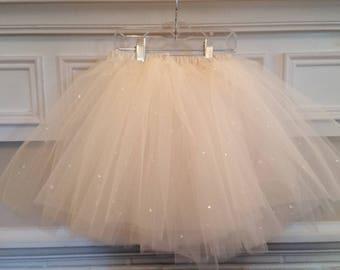 Girls Tulle Princess Skirt