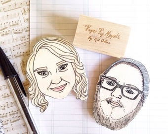 Custom Face Magnet Set,Anniversary Gift for Boyfriend,Gift for Boyfriend,Birthday Gift for Boyfriend,Gift for Husband,Anniversary Gift Men