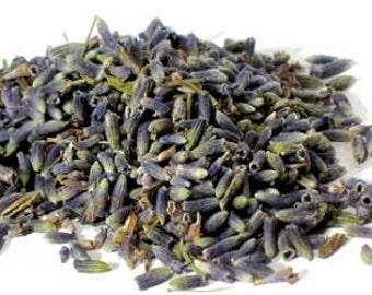 Lavender Flowers Whole, Dried Herb, 1 Oz