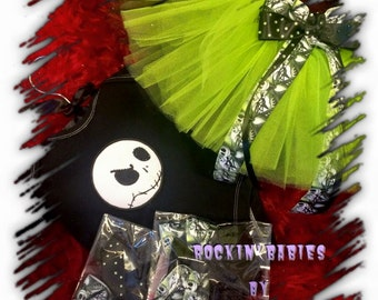 Nightmare Before Christmas Tutu Set