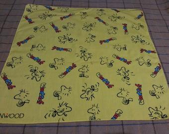 Vintage Kenwood Handkerchief Bandana Vintage Peanut