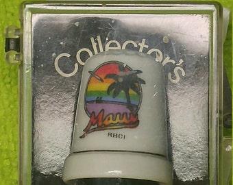 Collectors Thimble Maui Hawaii RBCI
