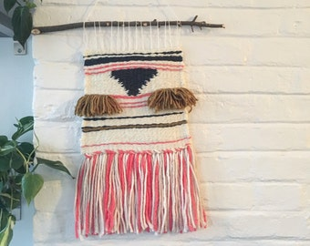 Hand woven tapestry