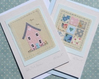 Little Pink House & Patchwork