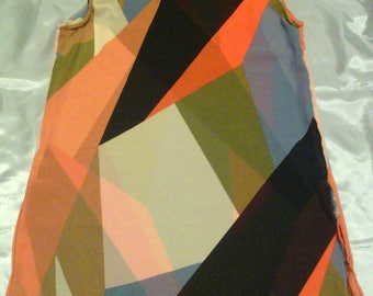 Sleeveless Vest Geometric Shapes