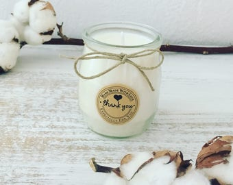 COTTON FLOWER Natural Scented Candle – 116g