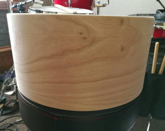 Vintage style 14x6.5 3ply cherry, poplar, cherry bare snare drum shell by Erie drums