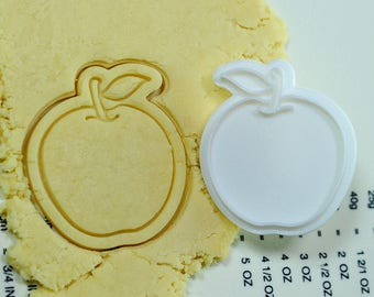 Apple Cookie Cutter and Stamp