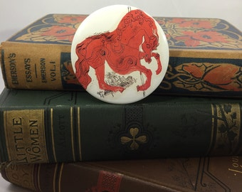 """The Catcher in the Rye J.D. Salinger Button Magnet 2.25"""""""