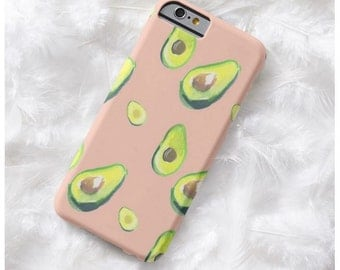 AVOCADO PHONE CASE iphone 7 7 plus iphone 4 4s 5 5C 5s 6 6s 6 plus samsung s3 s4 s5 s6 s7 s6 edge s7 edge iphone 7 samsung s6 samsung s7 s5