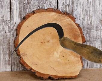 Vintage Sickle, Sickle, Vintage Tool, Vintage Garden Tool, Farm Sickle, Vintage Hand Tool.