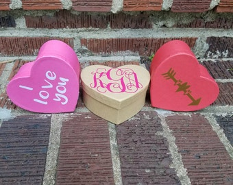 Small Heart Boxes