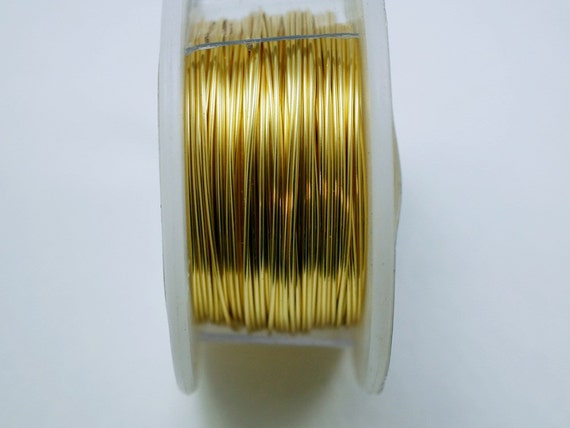 24 gauge craft wire gold craft wire jewelry wire hobby for 24 gauge craft wire