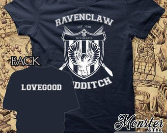 Ravenclaw Personalized House Quidditch Youth T-Shirt