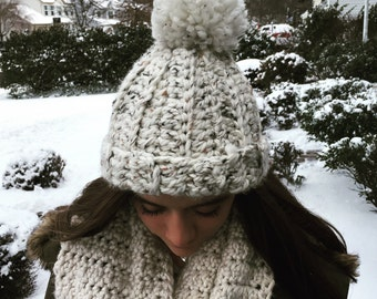 Chunky Warm Winter Hat