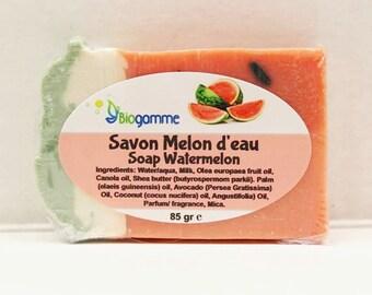 Vegan Soap Watermelon Natural and gentle skin 85 gr
