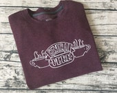 """Friends """"Central Perk"""" Sweatshirt - From the TV Show """"Friends"""" completely customizable Central Perk coffee sweatshirt!  Cute and cozy"""
