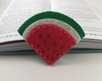 Watermelon Corner Bookmark