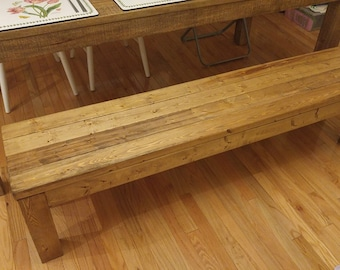 Custom Dining Bench