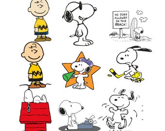 Charlie Brown svg |Charlie Brown clipart |  Snoopy svg,png,jpg,eps for Print/Silhouette Cameo/Cricut and Many More