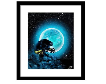Digital copy)Voidwalker under the moon