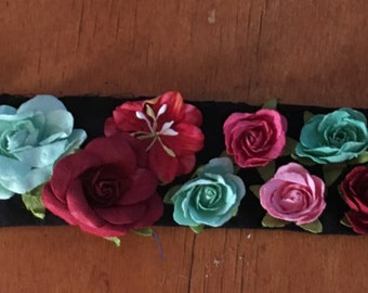 Green&Red Flowercrown