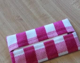 BALANCE tissue holder, handkerchiefs, hankies, practical, ecological, economical bag case
