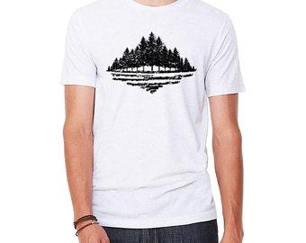 Boreal - Northern Forest Men's Tri Blend T-shirt